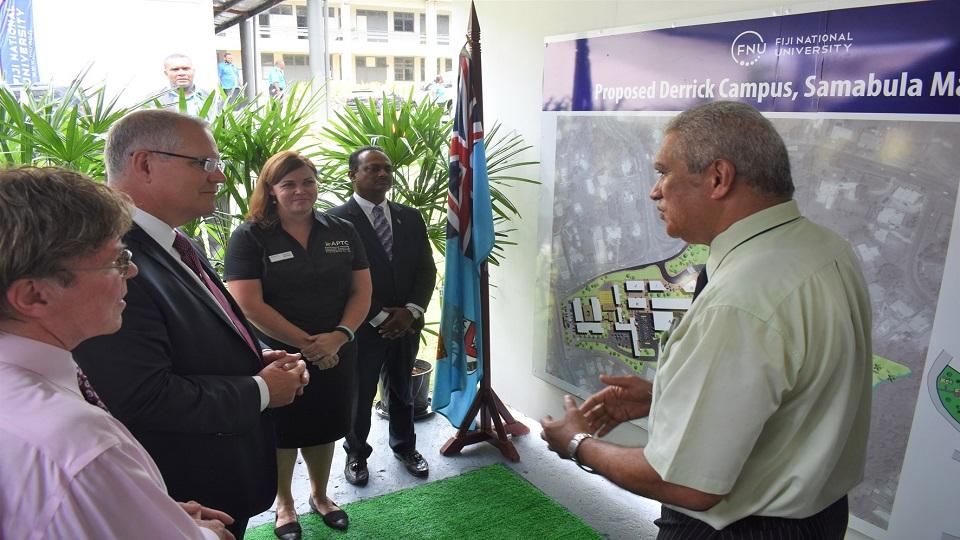 Australian PM Commends FNU And APTC Partnership