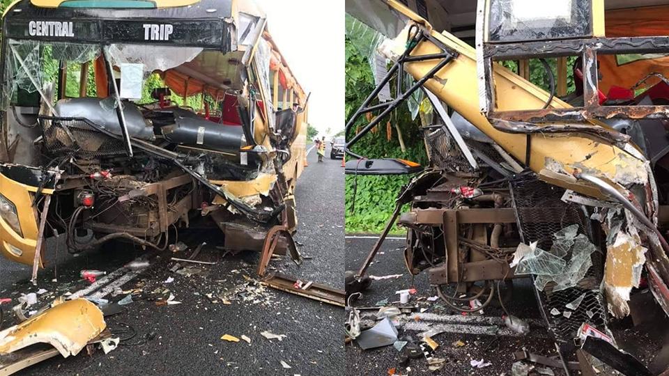 Bus accident in Taveuni injures twenty – FBC News