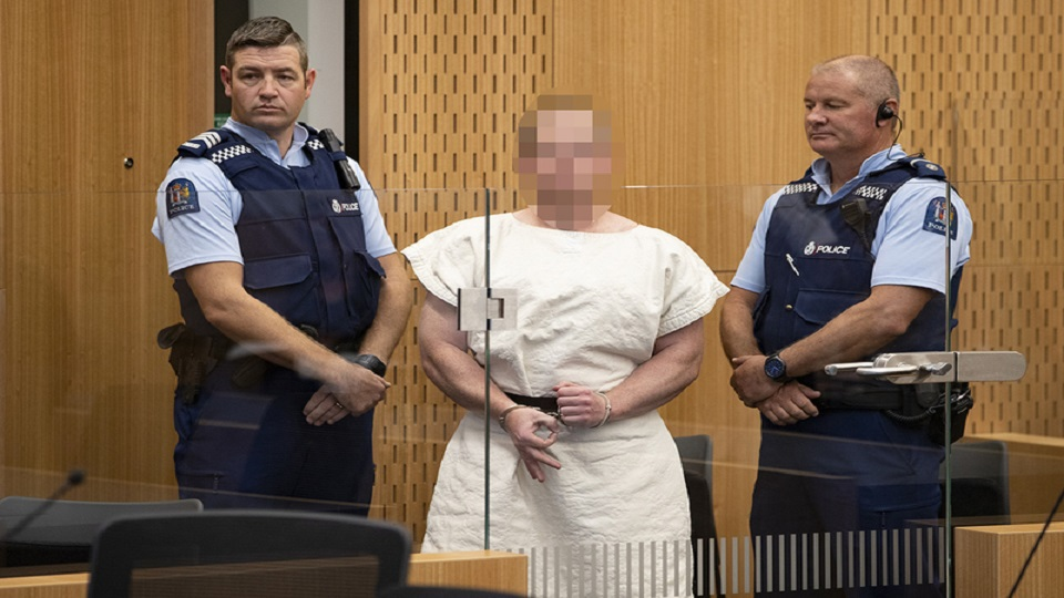 Terrorist Attack Christchurch Picture: Brenton Tarrant Charged With Murder In Christchurch