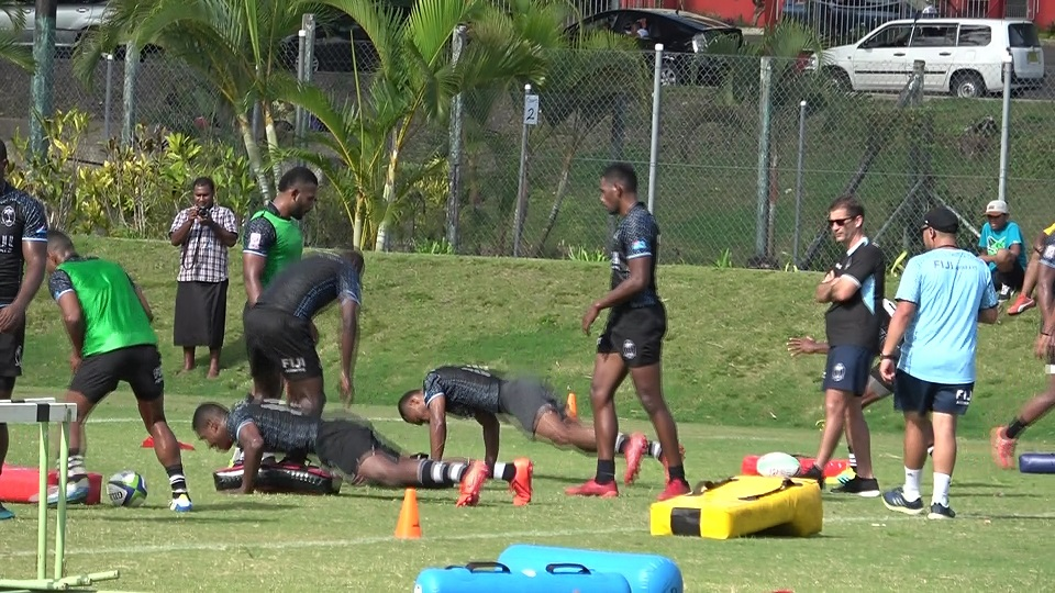 Fiji 7s Key Players Miss Out On Today's Training Session