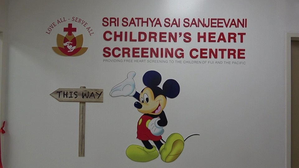 South Pacific's First Children's Heart Screening Centre