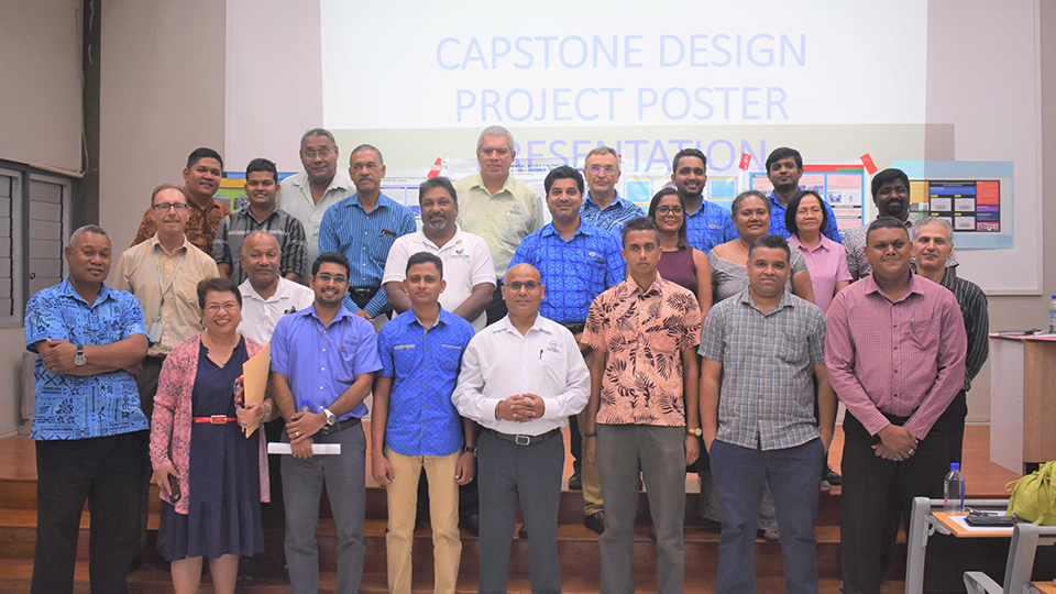 FNU Engineering Students Display Capstone Projects