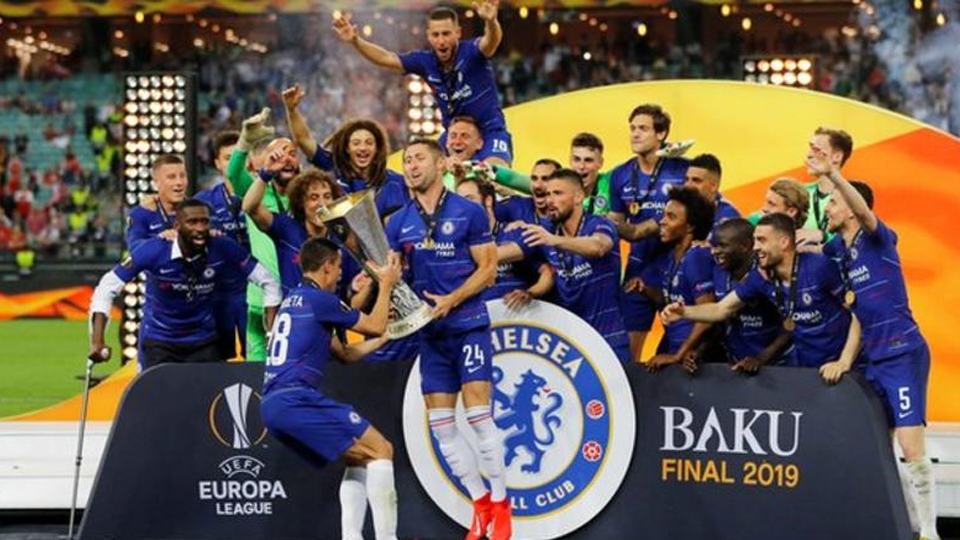 Chelsea Beat Arsenal To Win Europa Cup