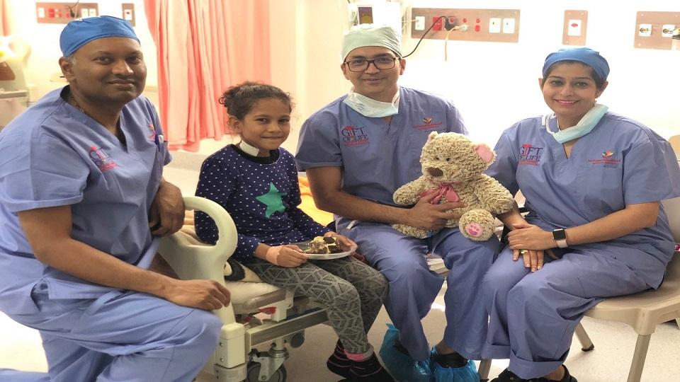11 Children With Congenital Heart Disease Undergo Surgery