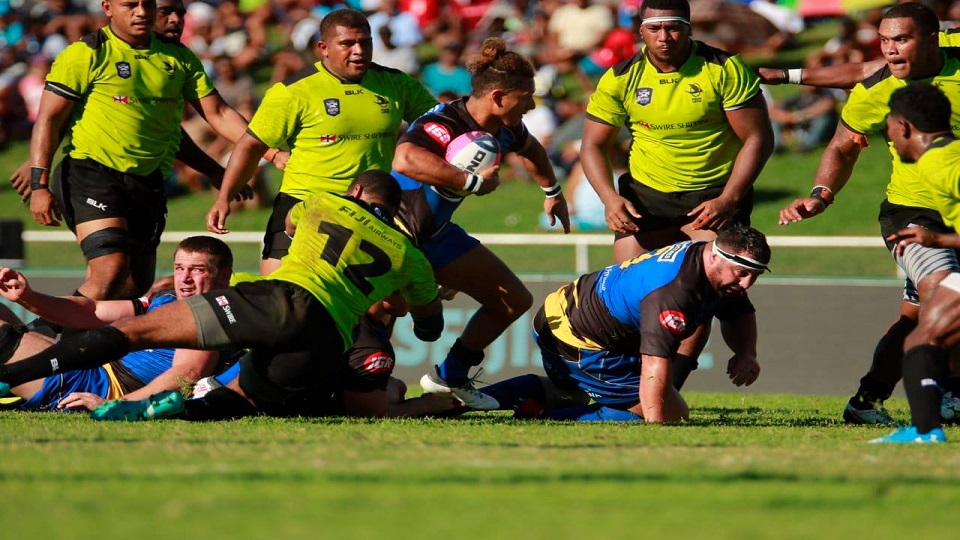 Western Force Beats Fijian Latui