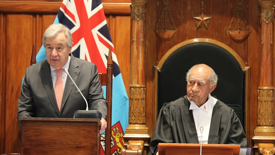 Fiji Setting An Example For The World: UNSG