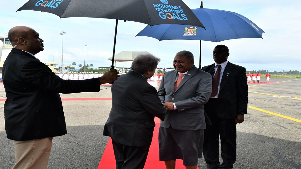 UNSG Rounds Up Fiji Mission, Guard Of Honour Orchestrated