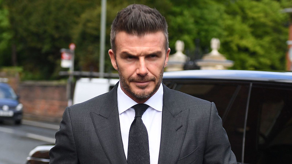 Ban It Like Beckham: Phone Costs Soccer Star Right To