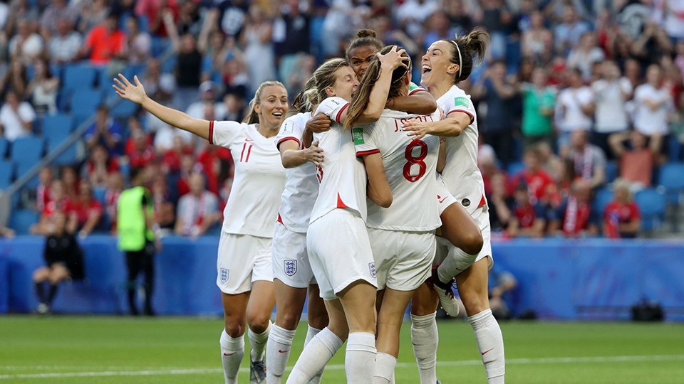 England Beat Norway To Reach World Cup Semi-final