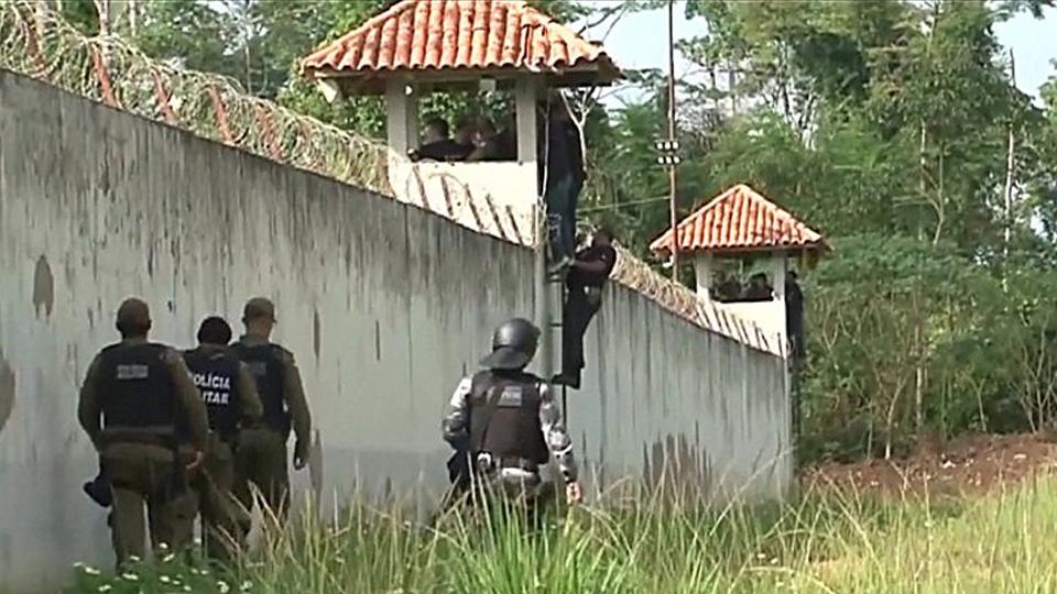 Brazil Jail Riot In Para State Leaves 52 Dead As Gangs