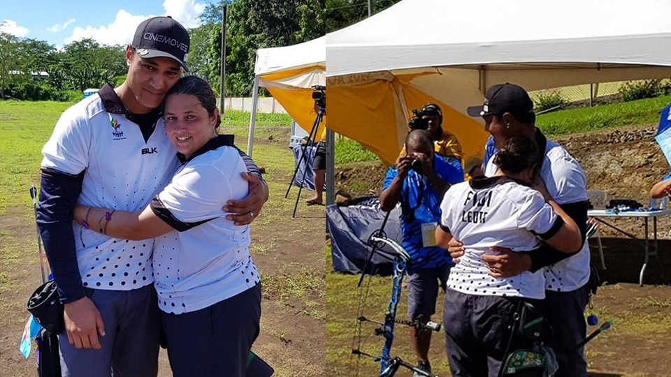 Couple Wins Gold For Team Fiji