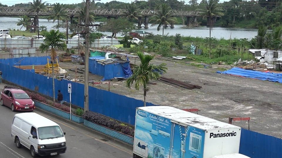 Work On Nausori Old Bus Stand Site Awaiting Approval