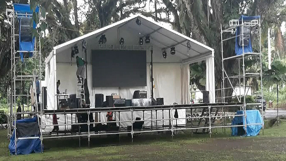 Stage Set For Tomorrow's Thurston Food & Music Festival