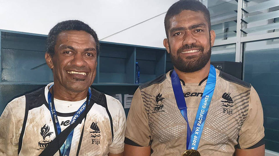 Father And Son Strike Gold At Pacific Games