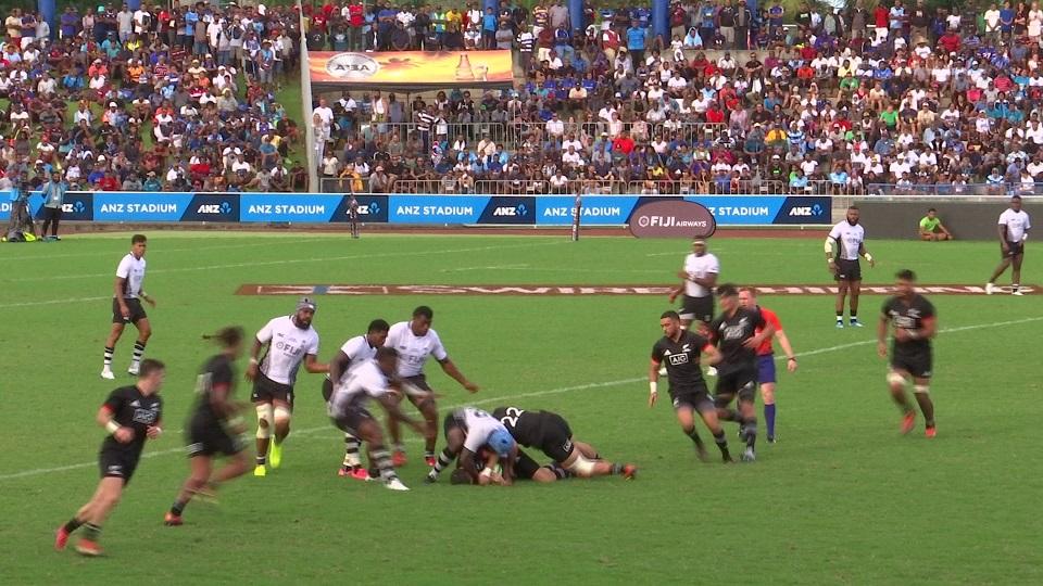 Maori All Blacks Captain Praises Fiji's Offload Game