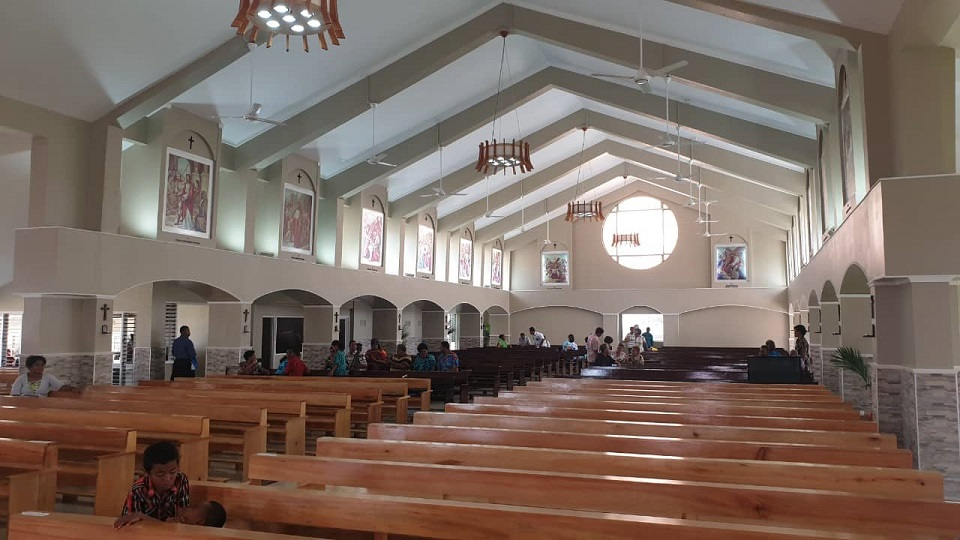 Refurbished Catholic Church In Lautoka Opens
