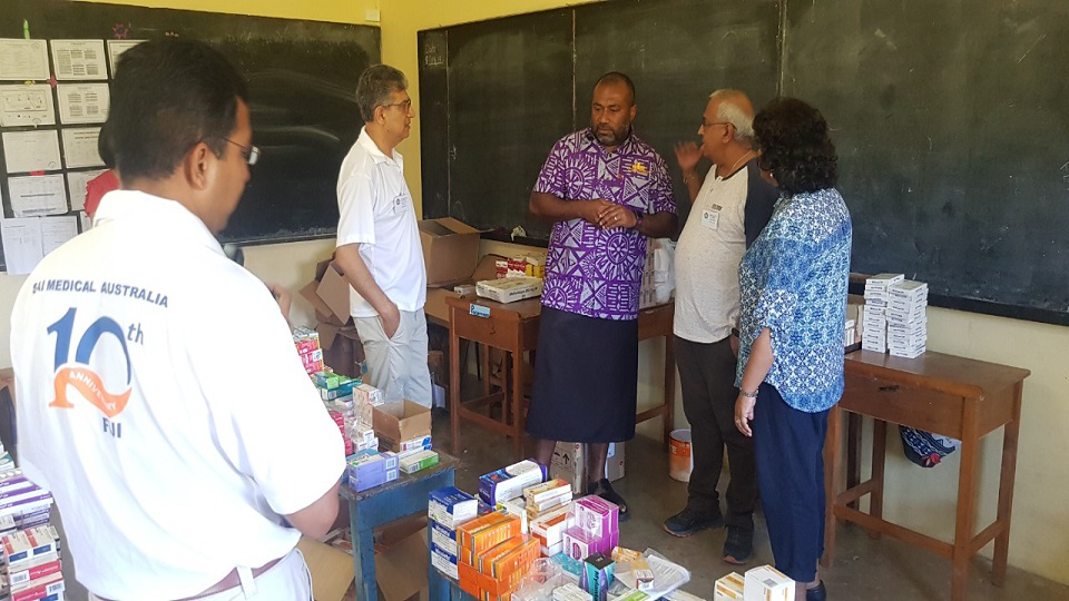 Sai Medical Team Fiji Visit A Boost For Health Ministry