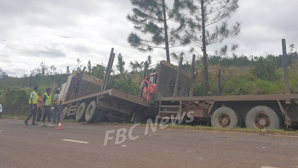 Truck Driver In Hospital Following Accident