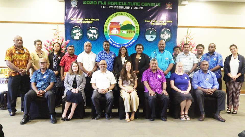 $4.5m Allocated For The 2020 Fiji Agriculture Census