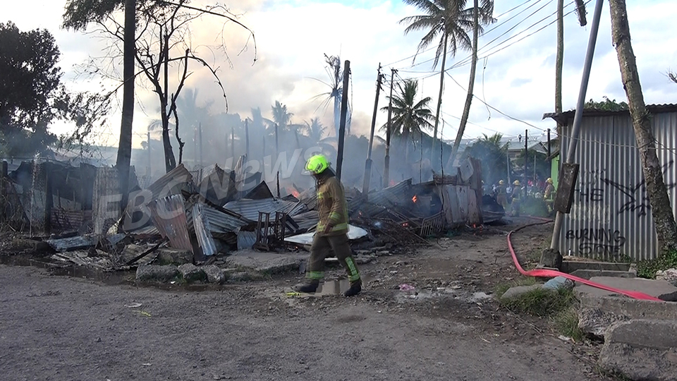 Eighteen People Homeless After Fire Destroys Their Homes