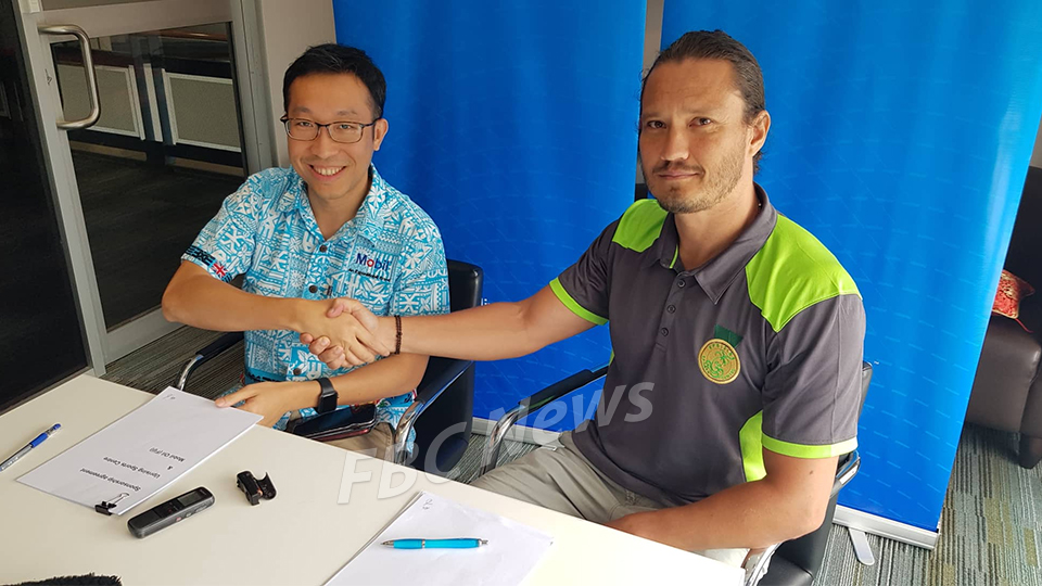 Mobil Fiji Signs MOU With Uprising Sports Centre